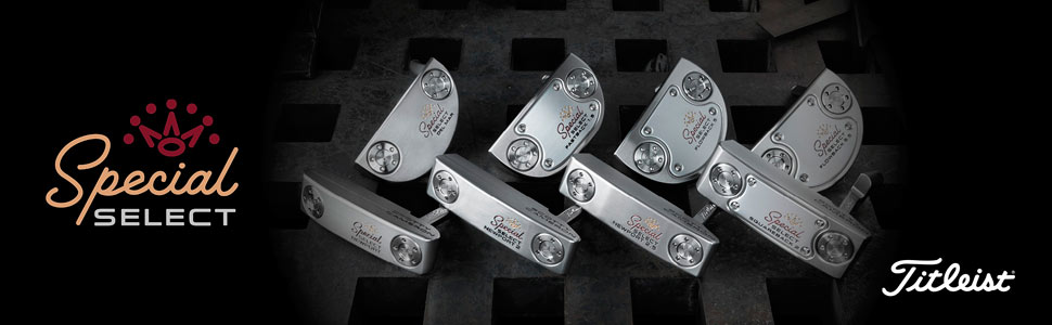 眾所期待!Titleist Scotty Cameron Special Select 推桿 火熱到貨!